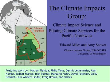 The Climate Impacts Group: