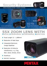 55X ZOOm LENS WITH - Security Systems