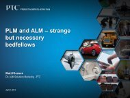 PLM and ALM – strange but necessary bedfellows - EclipseCon