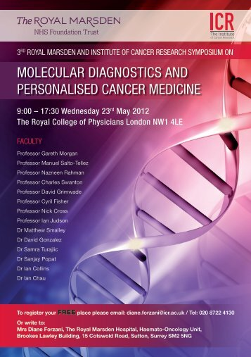 integrating molecular diagnostics into personalised medicine