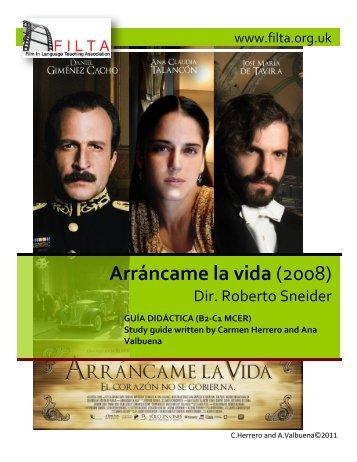 Arráncame la vida (2008) - Cornerhouse