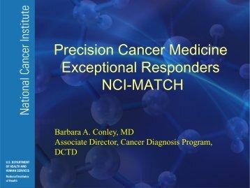 Precision Cancer Medicine