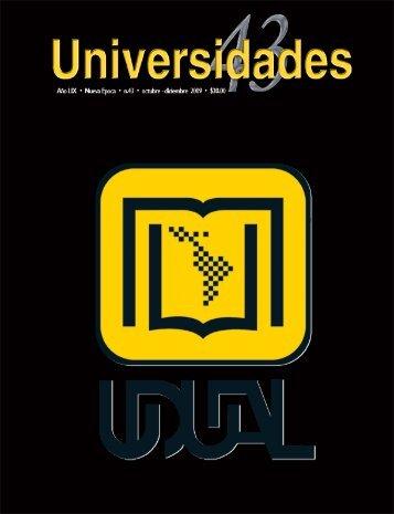Revista Universidades Número 43, Octubre - Diciembre de ... - udual