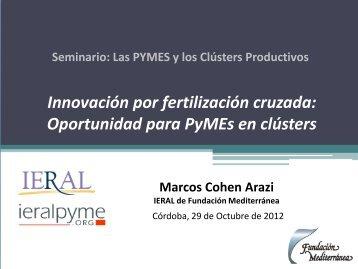 Presentación Lic. Marcos Cohen Arazi - Ieral Pyme