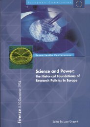 Science and Power: the Historical Foundations of Research Policies ...