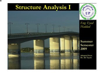 Structure Analysis I