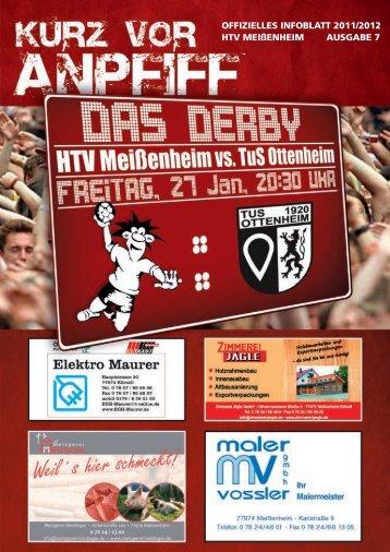 Ausgabe 7 2011/2012 - HTV Meissenheim