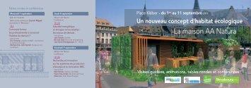 Téléchargement du programme des tables rondes ... - FIBOIS Alsace