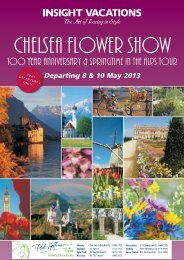 Chelsea Flower Show - Insight Vacations