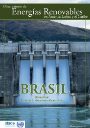 Brasil - Observatory for Renewable Energy in Latin America and