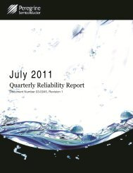 July 2011 - Peregrine Semiconductor