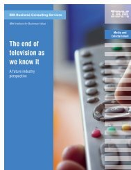 The end of television as we know it: A future industry ... - News