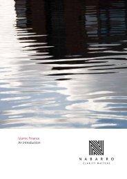 Islamic Finance An introduction - Nabarro