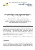 Glutathione Modified Gold Piezoelectric and Voltammetric Sensors ... - Page 5