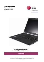 LG Notebooks - LG Electronics