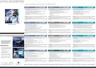 Termine 2012/13 im Überblick - UVEX SAFETY