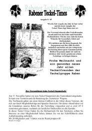 Ausgabe 8 / 05 - Teckelgruppe Raben