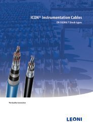 ICON® Instrumentation Cables