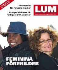 LUM nr 4, 2011 - Humanekologi Lunds universitet