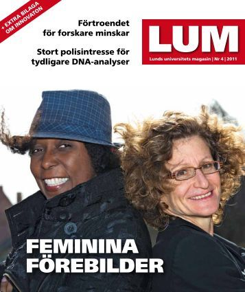LUM nr 4, 2011 - Humanekologi Lunds universitet
