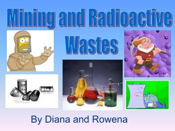 Mining and Radioactive Wastes