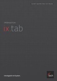 Infobroschüre - iX-tech