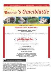 Einladung zum 1. Maihock 2011 - Suedlicht GmbH