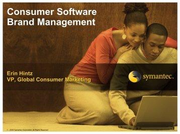 Consumer Software Brand Management - svpma