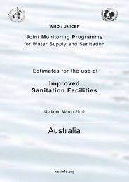 Australia - WHO/UNICEF Joint Monitoring Programme
