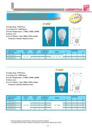 ELECTRONIC BALLASTED COMPACT FLUORESCENT LAMPS