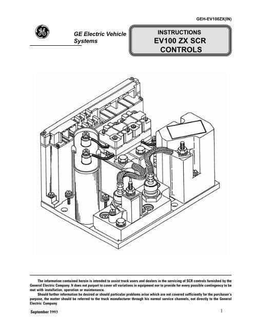 EV100 ZX SCR CONTROLSYumpu