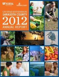 AnnuAl RepoRt - Sarasota County Extension - University of Florida