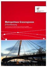Metropolitane Grenzregionen - Dr. Jürgen Aring - Büro für ...