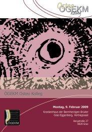 Programm Osteo Kolleg Graz.pdf - Österreichische Gesellschaft für ...