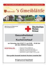 16.00 Uhr auf dem EDEKA-Parkplatz KOSTENLOS - Suedlicht GmbH