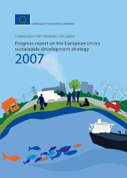 Progress report on the European Union sustainable development ...
