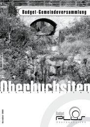 08_Budget GV - Gemeinde Oberbuchsiten