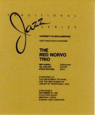 THE RED NORVO TRIO