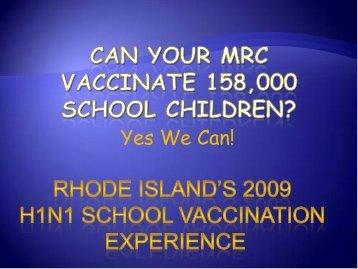 H1N1 - The 2012 Integrated Medical, Public Health, Preparedness ...