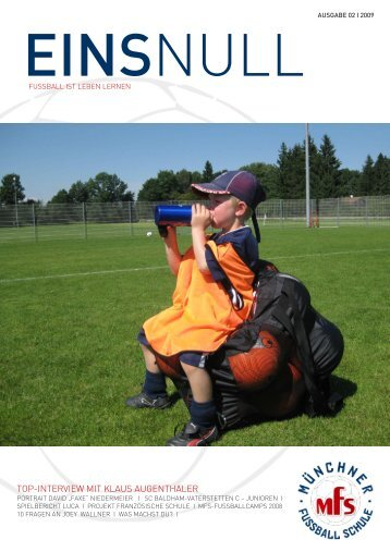 einsnull_02_2009 - Munchner Fussball Schule