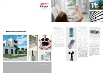 Fenster-System-Raffstoren
