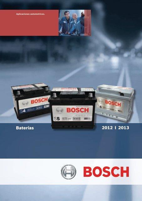 2012 I 2013 Baterías - Bosch Argentina