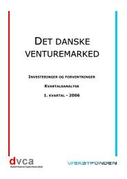 Kvartalsanalyse Q1/ 2006 - DVCA
