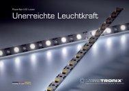 PowerBar Prospekt: Unerreichte Leuchtkraft 2.43 MiB - LEDS.de