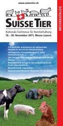 Aussteller und Produkte - Suisse Tier