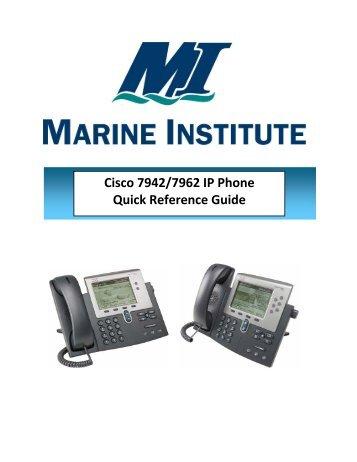 Cisco Ip Phone Instructions