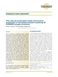 The use of automatic tools and human expertise in template-based ...
