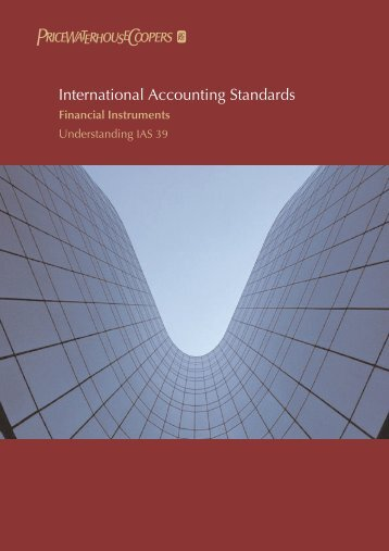 International Accounting Standards - The Computer Science ...
