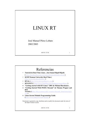 LINUX RT