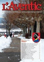 février 2013 - Commune Avenches